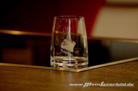 Whiskyglas, Experience graviert