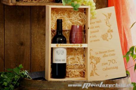 Weinpräsent Chateau Fabre
