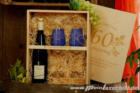 Weinpräsent Wallhäuser Pfarrgarten